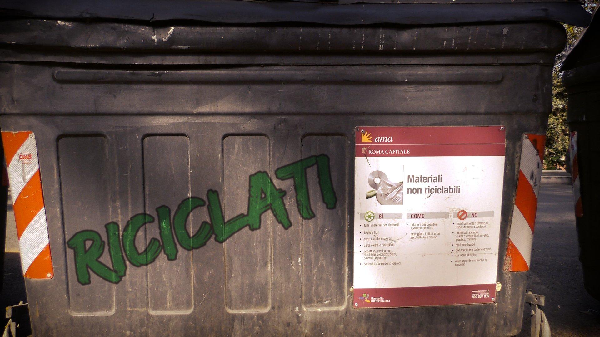 Roma Web Fest - Riciclati
